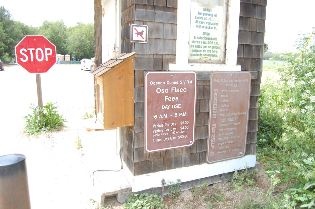 Oso Flaco Lake Paystation